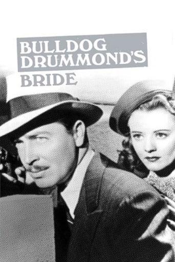 Bulldog Drummond Hochzeit mit Knall auf Fall