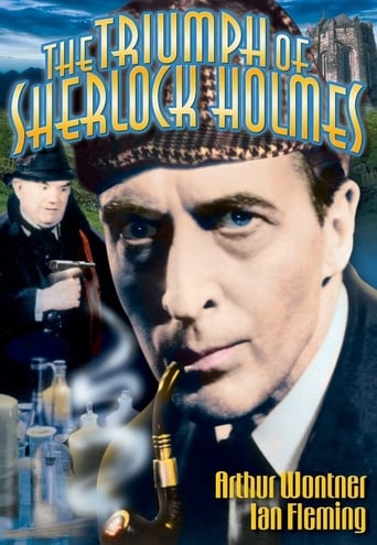 Poster of The Triumph of Sherlock Holmes
