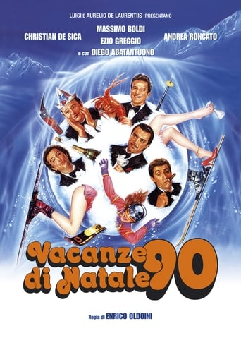 Poster of Vacanze di Natale '90