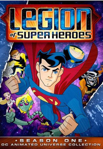 Legião dos Super Herois 1ª Temporada - Poster
