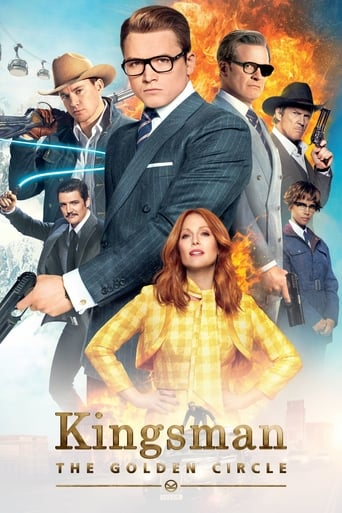Poster of Kingsman: The Golden Circle fragman