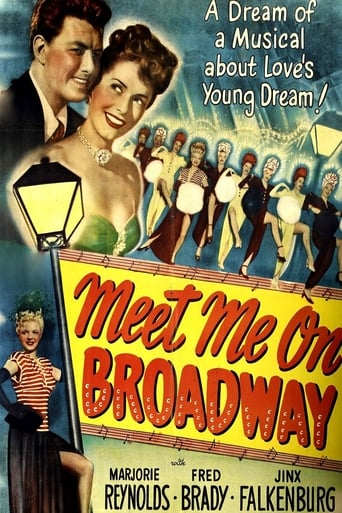Poster of Meet Me on Broadway