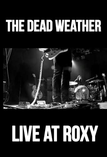 Poster of The Dead Weather: Live at Roxy
