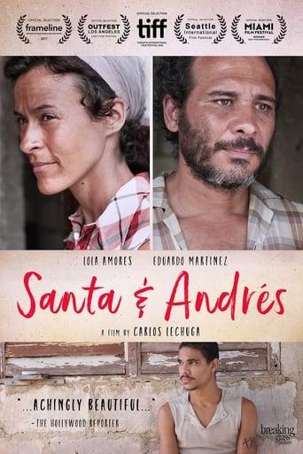 Santa & Andres Poster