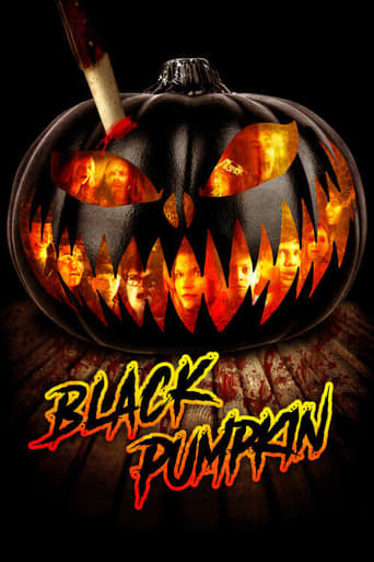 Black Pumpkin Poster