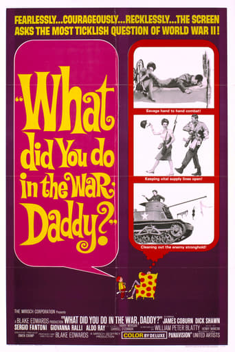 Poster of What Did You Do in the War, Daddy?