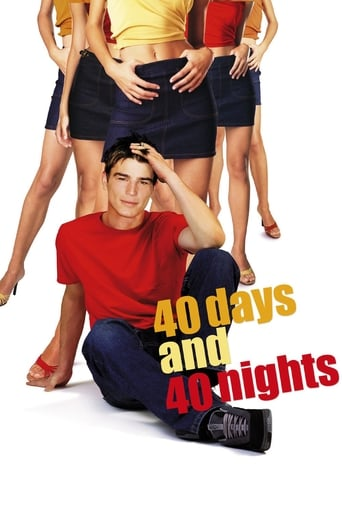 Official movie poster for 40 Days and 40 Nights (2002)