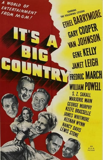 Poster of It's a Big Country