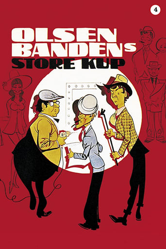 Poster of The Olsen Gang's Big Score
