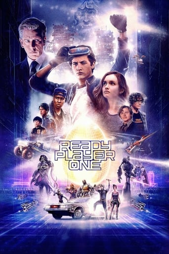 Official movie poster for Ready Player One (2018)