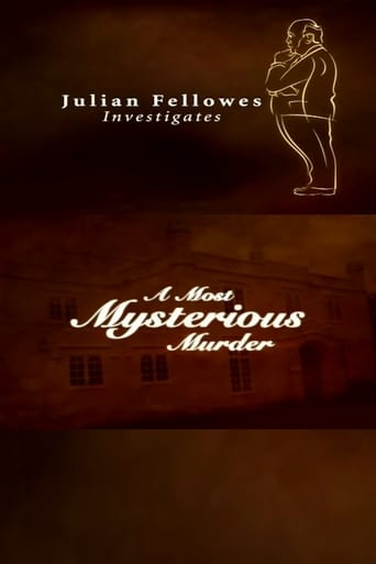 Poster of Julian Fellowes Investigates: A Most Mysterious Murder