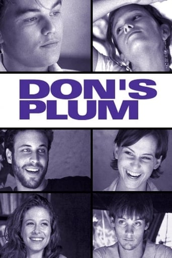 Poster of Don's Plum (nunca digas lo que piensas)