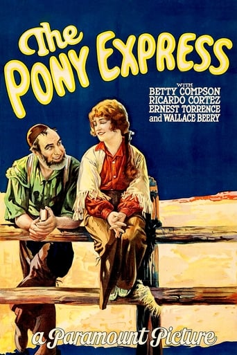 Poster of The Pony Express