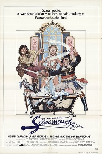 Poster of The Loves and Times of Scaramouche
