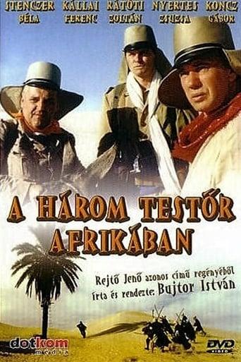 Poster of A három testőr Afrikában