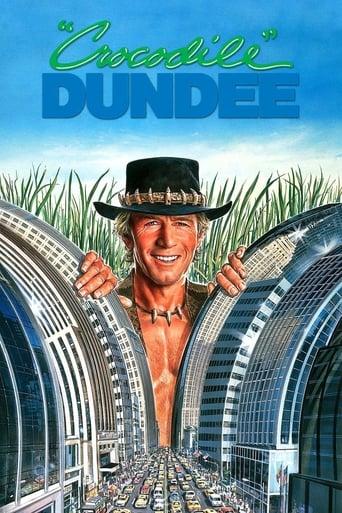 Crocodile Dundee (1986) - poster