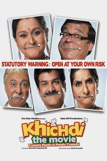 Poster of Khichdi: The Movie