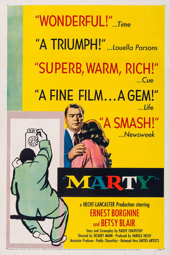 Marty (1955) - poster