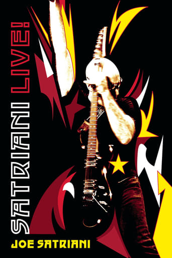 Poster of Joe Satriani - Live - The Grove in Anaheim, Califronia