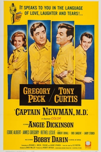 Poster of Captain Newman, M.D.