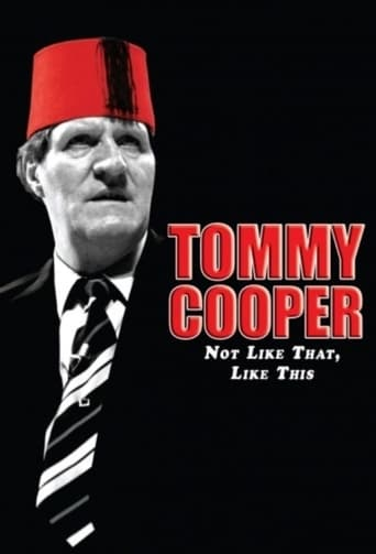 Poster of Tommy Cooper: Not Like That, Like This