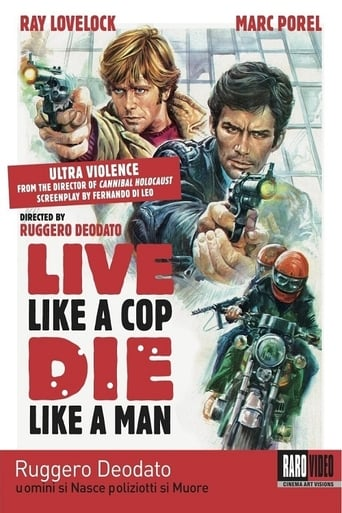 Poster of Live Like a Cop, Die Like a Man
