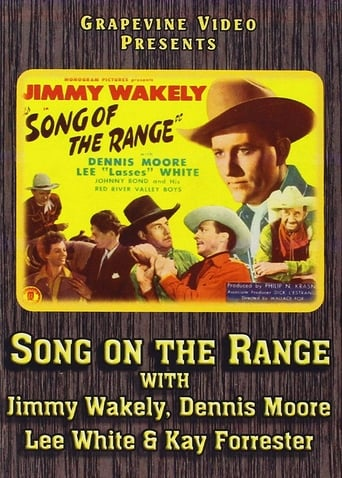 Poster of Song of the Range