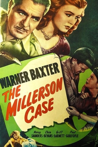 Poster of The Millerson Case