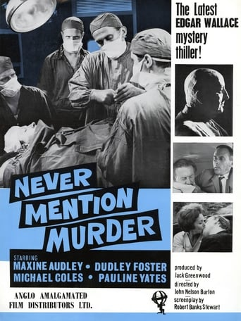 Poster of Never Mention Murder