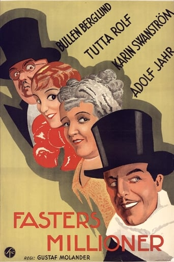 Fasters millioner Movie Poster