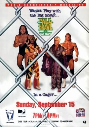 Poster of WCW Fall Brawl 1996