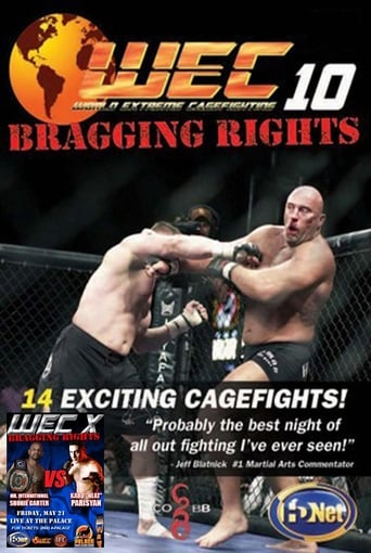Poster of WEC 10: Bragging Rights
