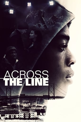 Poster of Across the Line