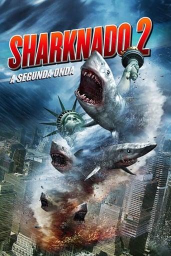 Sharknado 2: A Segunda Onda - Poster