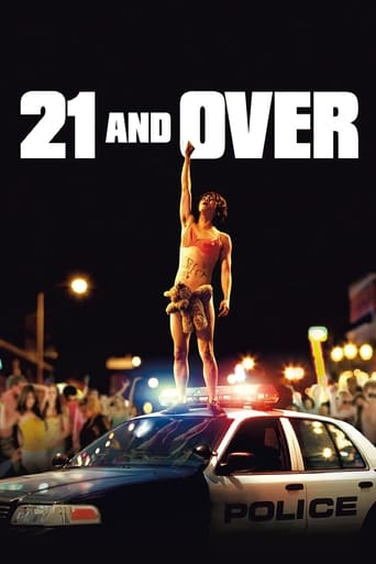 21 & Over (2013) - poster