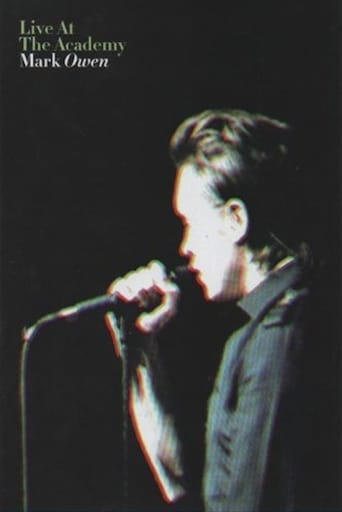 Poster of Mark Owen: Live at The Academy