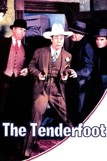 Poster of The Tenderfoot