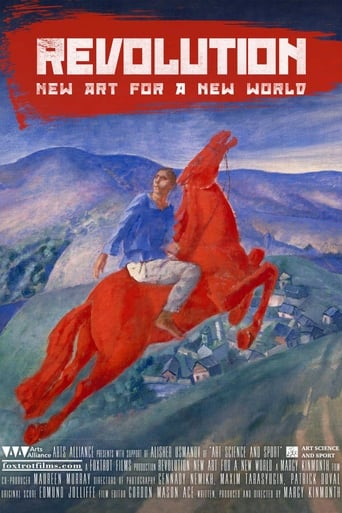 Poster of Revolution: New Art for a New World