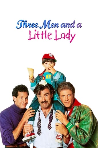 Poster of 3 Men and a Little Lady