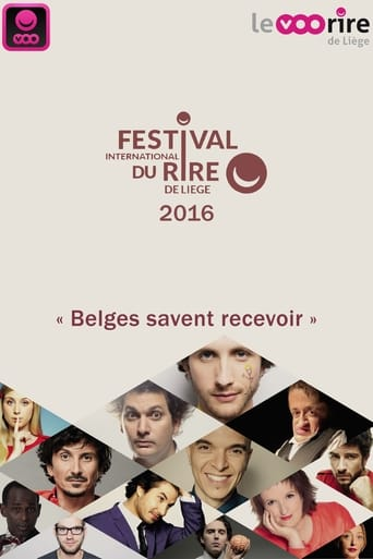 Poster of Festival International du Rire de Liège 2016