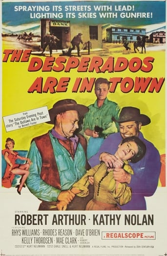 Poster of The Desperados Are in Town