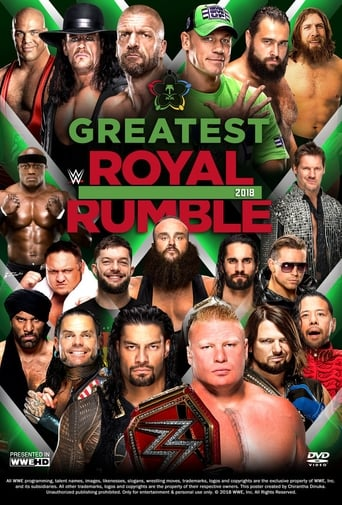 Poster of WWE Greatest Royal Rumble 2018