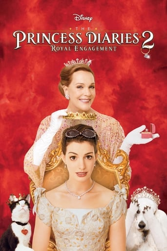 Poster of The Princess Diaries 2: Royal Engagement