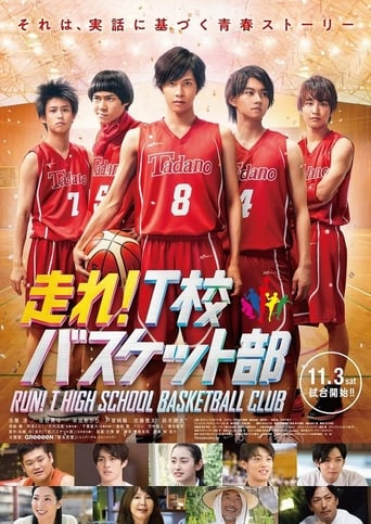 Run! T High School Basketball Club Movie Poster