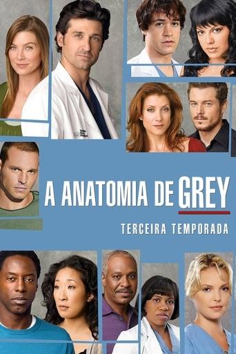 Anatomia de Grey 3ª Temporada - Poster