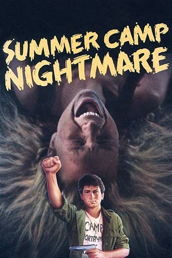 Poster of Summer Camp Nightmare