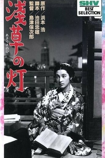 Poster of The Lights of Asakusa