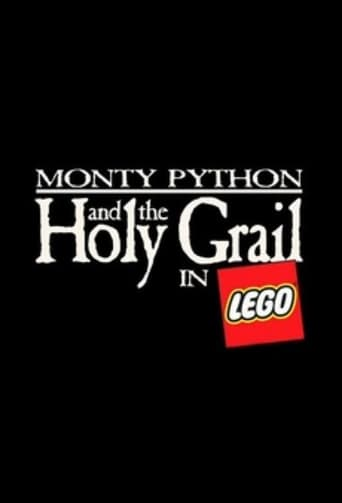Monty Python and the Holy Grail in LEGO poster