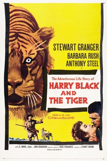 Poster of Harry Black and the Tiger