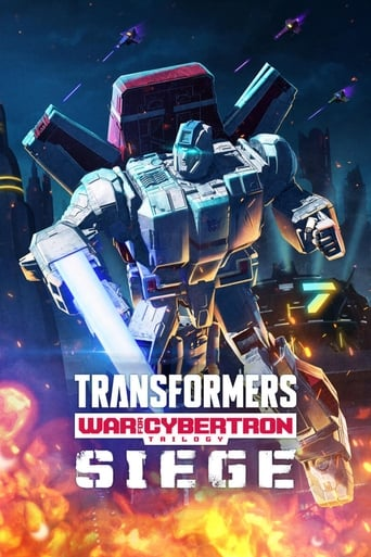 Transformers War for Cybertron 1ª Temporada - Poster